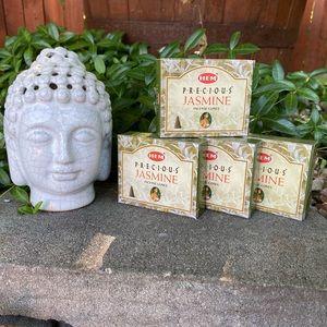 Hem Jasmine Incense Cones 4 Boxes Firm